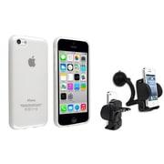 Insten® 1388405 2-Piece iPhone Case Bundle For Apple iPhone 5C