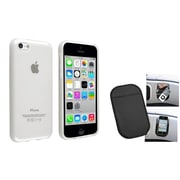Insten® 1388408 2-Piece iPhone Others Bundle For iPhone 5C