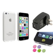 Insten® 1388419 3-Piece iPhone Sticker Bundle For iPhone 5C/iPad/iPod Touch