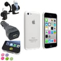 Insten® 1388428 4-Piece iPhone Car Charger Bundle For Apple iPhone 5C