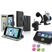 Insten® 1389422 3-Piece iPhone Case Bundle For Apple iPhone 5C