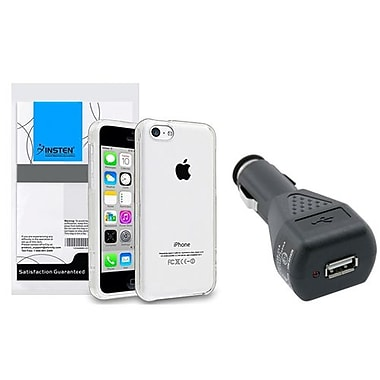 Insten® 1390302 2-Piece Car Charger Bundle For Apple iPhone 5C