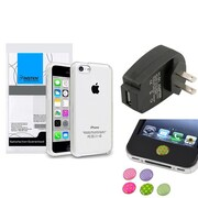Insten® 1390320 3-Piece iPhone Case Bundle For Apple iPhone 5C, Apple iPhone/iPad/iPod Touch