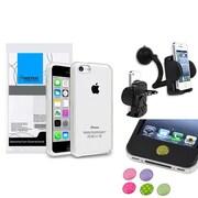 Insten® 1390325 3-Piece iPhone Case Bundle For Apple iPhone 5C