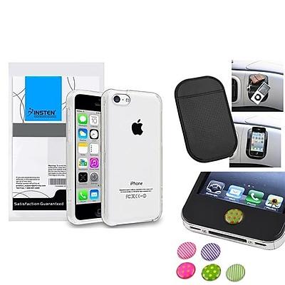 Insten 1390328 3-Piece iPhone Case Bundle For Apple iPhone 5C, Apple iPhone\/iPad\/iPod Touch