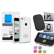 Insten® 1390328 3-Piece iPhone Case Bundle For Apple iPhone 5C, Apple iPhone/iPad/iPod Touch