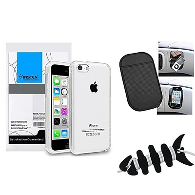 Insten 1390347 3-Piece iPhone Case Bundle For Apple iPhone 5C