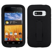 Insten® Symbiosis Stand Protector Case For ZTE N9101 Imperial, Black/Black