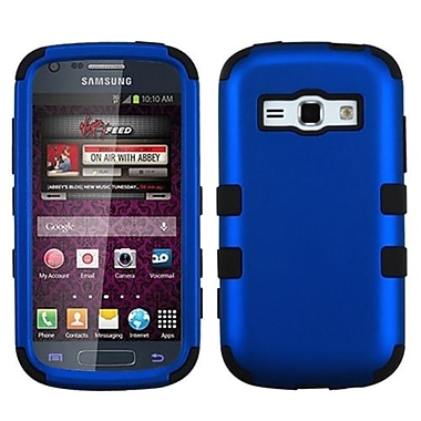 Insten® Hybrid Phone Protector Cover For Samsung M840/Galaxy Prevail 2, Titanium Dark Blue/Black