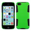 Insten® Astronoot Phone Protector Case F/iPhone 5C, Green/Black