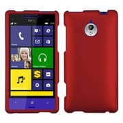 Insten® Protector Case For HTC 8XT, Titanium Solid Red