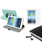 Insten® 1457069 3-Piece Tablet Cap Bundle For Samsung Galaxy Tab 3 7.0 P3200/Kids