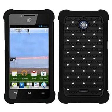 Insten® Phone Protector Case For Huawei H881C/Y301, Black/Black