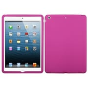 Insten® Solid Skin Case For Apple iPad Air, Hot-Pink