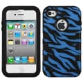 Insten® TUFF eNUFF Hybrid Phone Protector Covers F/iPhone 4/4S