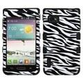 Insten® TUFF Hybrid Phone Protector Cases For LG VM720/LS720/MS659