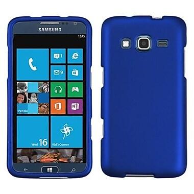 Insten® Phone Protector Case For Samsung I8675 ATIV S Neo, Titanium Solid Dark Blue