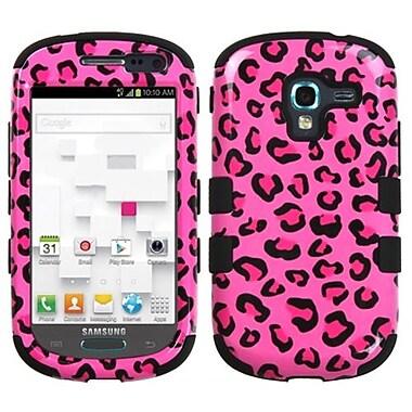 Insten® Hybrid Protector Case For Samsung T599 Galaxy Exhibit, Pink Leopard/Black