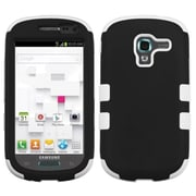Insten® TUFF Hybrid Phone Protector Case For Samsung T599 Galaxy Exhibit, Black/Solid White