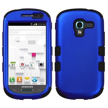 Insten® Hybrid Protector Case For Samsung T599 Galaxy Exhibit, Titanium Dark Blue/Black