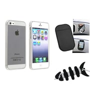 Insten® 1474589 3-Piece iPhone Case Bundle For Apple iPhone 5/5S