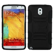Insten® Advanced Armor Stand Protector Cover For Samsung Galaxy Note 3, Black/Black