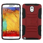 Insten® Advanced Armor Stand Protector Cover For Samsung Galaxy Note 3, Red/Black