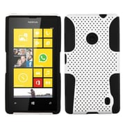 Insten® Astronoot Phone Protector Case For Nokia Lumia 520, White/Black