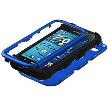 Insten® Hybrid Phone Protector Cover For Kyocera C5215 Hydro Edge, Titanium Dark Blue/Black