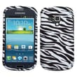Insten® Phone Protector Case For Samsung i407 (Galaxy Amp), Zebra Skin