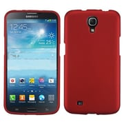 Insten® Phone Protector Case For Samsung i527 Galaxy Mega, Titanium Solid Red
