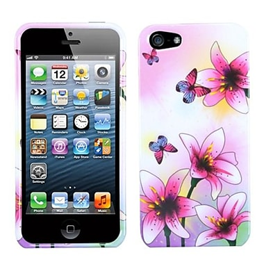 Insten® Phone Protector Cover F/iPhone 5/5S, Spring Lilies
