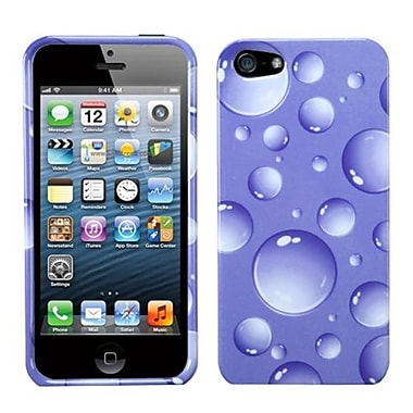Insten® Phone Protector Cover F/iPhone 5/5S, Purple Bigger Bubbles