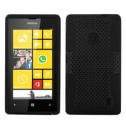 Insten® Astronoot Phone Protector Case For Nokia Lumia 520, Black/Black
