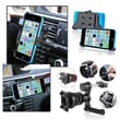 Insten® 1635554 2-Piece iPhone Mount Bundle For Apple iPhone 5C/Cell Phone, PDA, GPS, MP3, MP4