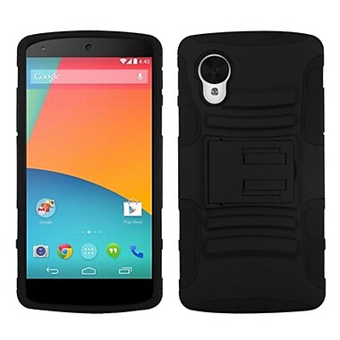 Insten® Advanced Armor Stand Protector Cases For LG D820 Nexus 5
