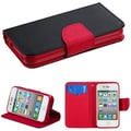 Insten® MyJacket Wallet Cases W/Card Slot F/iPhone 4/4S