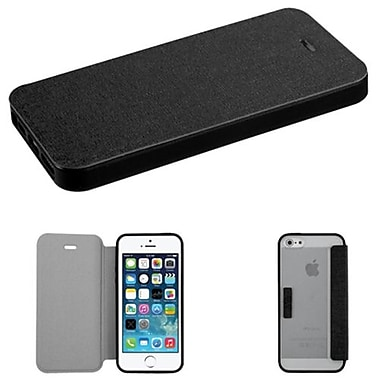 Insten® MyJacket Wallet Cases W/T-Clear Gummy Case Tray F/iPhone 5/5S