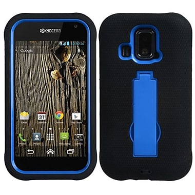 Insten® Symbiosis Stand Protector Cover For Kyocera C6721 Hydro XTRM, Dark Blue/Black