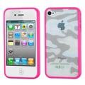 Insten® Gummy Cases F/iPhone 4/4S