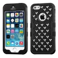 Insten® TUFF Hybrid Phone Protector Covers W/Round Studs F/iPhone 5/5S