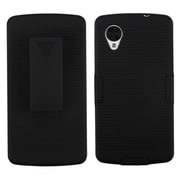 Insten® Hybrid Holster For LG D820 Nexus 5, Black
