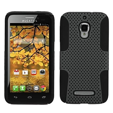 Insten® Astronoot Phone Protector Case For Alcatel 7024W, Grey/Black