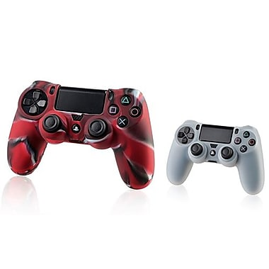 Insten® 1683597 2-Piece Game Case Bundle For Sony PlayStation 4 Controller