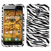 Insten® Phone Protector Case For Alcatel 7024W One Touch Fierce, Zebra Skin