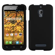 Insten® Rubberized Phone Protector Case For Alcatel 7024W, Black