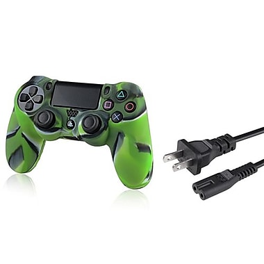 Insten® 1704053 2-Piece Game Cable Bundle For Sony PlayStation 4 Controller