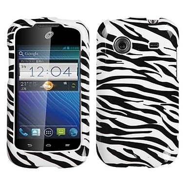 Insten® Protector Case For ZTE Z660G Whirl, Zebra