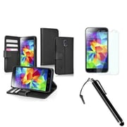 Insten® 1792485 3-Piece Case Bundle For Samsung Galaxy S5/SV