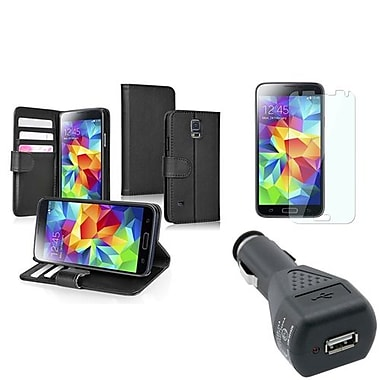 Insten® 1792495 3-Piece Car Charger Bundle For Samsung Galaxy S5/SV